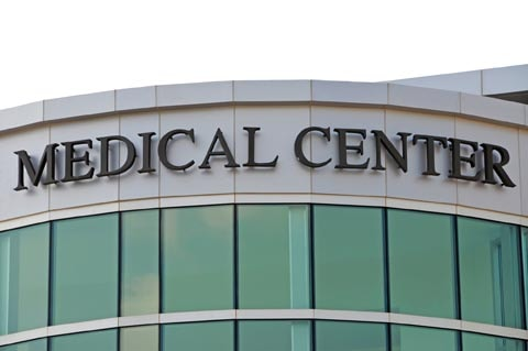 Medical centers lighting upgrades